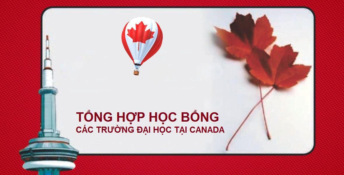 học bổng các trường Đại học ở Canada