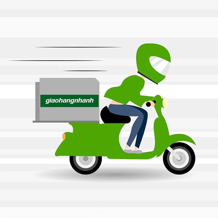 Shipper giao hàng nhanh
