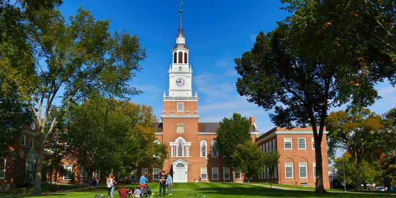 Học Bổng Toàn Phần Bậc Cử Nhân Tại Cao Đẳng Dartmouth 2021/2022